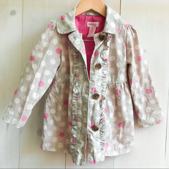 OshKosh B'gosh Other - 3T Genuine Kids/Osh Kosh sweet dots coat.